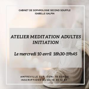 Atelier Initiation à la Méditation