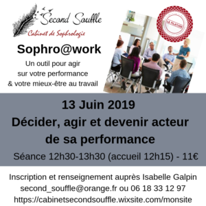 sophro@work : décider, agir et devenir acteur de sa performance