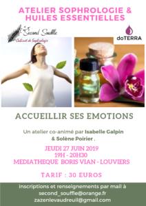 Accueillir ses émotions : sophrologie & huiles essentielles