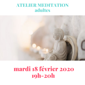 Atelier méditation adultes et adolescents