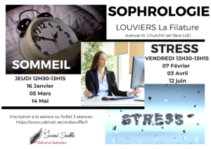 Atelier collectif Sophrologie Sommeil- Louviers